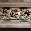 The three wise monkeys (Japanese: , san'en or sanzaru, or , sanbiki no saru, literally &quot;three monkeys&quot;)